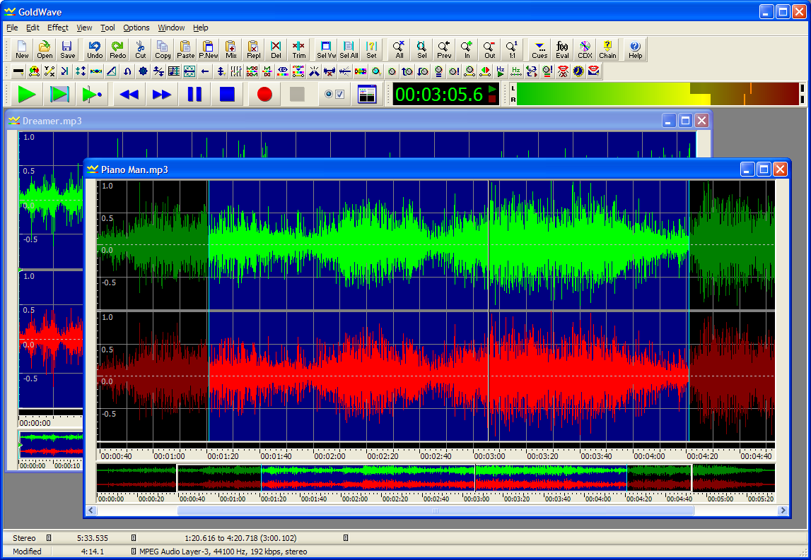 Goldwave Sound Editor